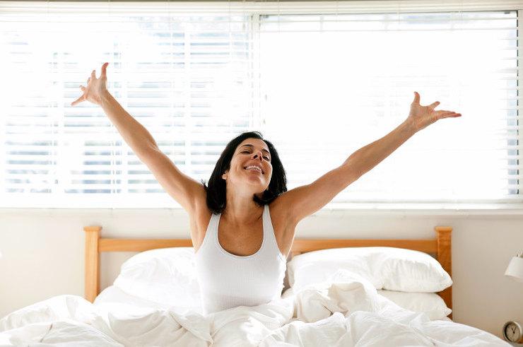 Как вставать бодро по утрам?