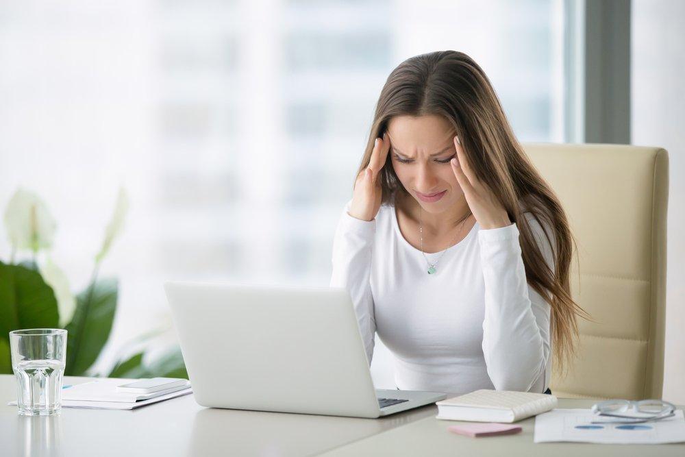 Как избавиться от головной боли, когда работаешь за компьютером?