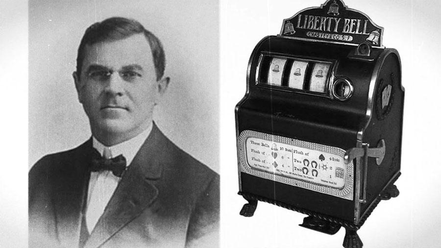 История первого игрового автомата, созданного Чарльзом Феем