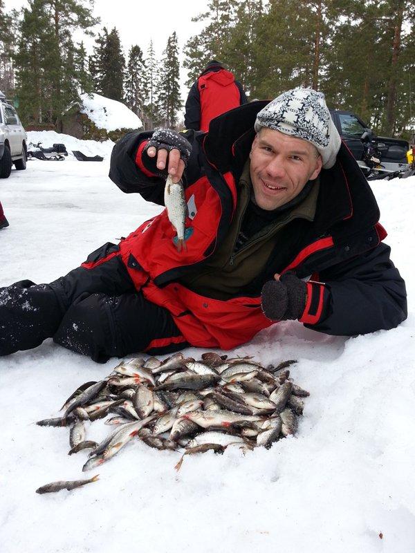 Ах эта зимняя рыбалка