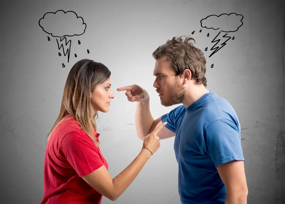 Борщ с яйцами или вы часто ругаетесь с мужем?