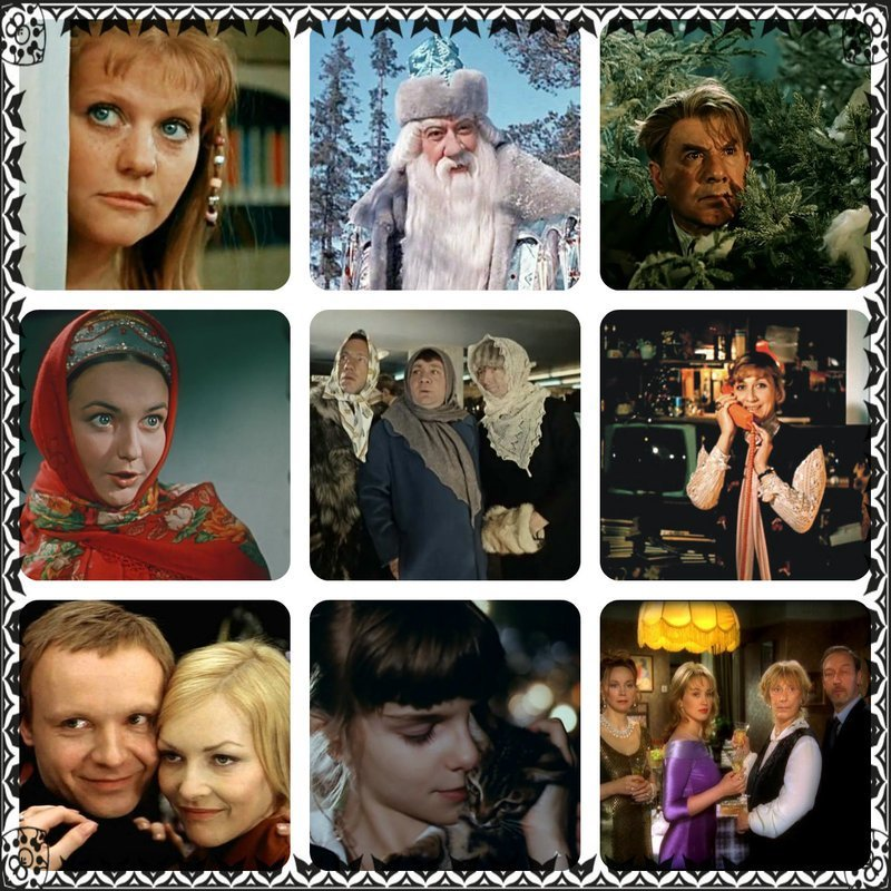 Новогодние фильмы, сказки и мультфильмы!