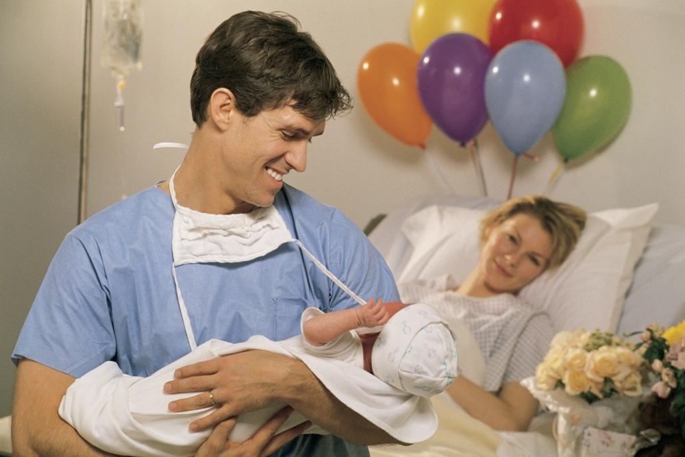 Присутствие и поддержка мужа на родах