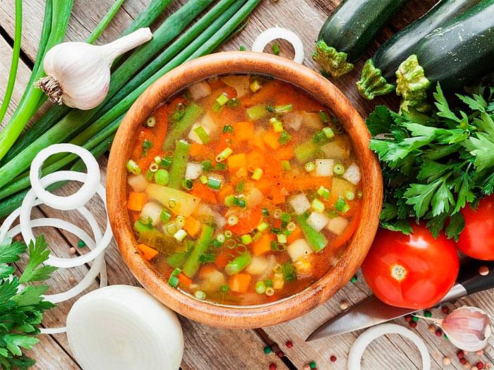 Приготовление национальных первых блюд в разных странах