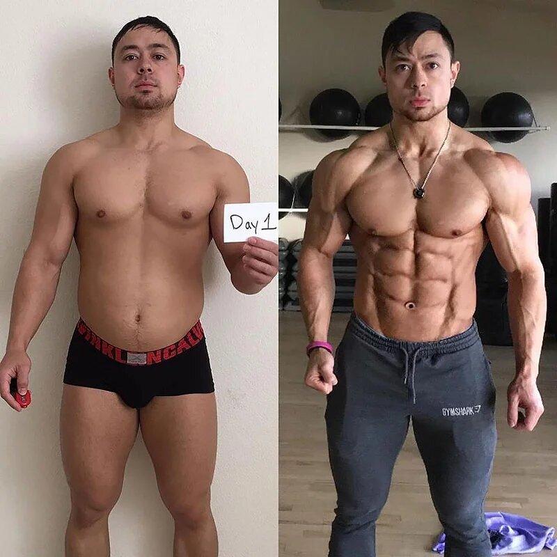Как спорт изменяет людей. Трансформация тела.