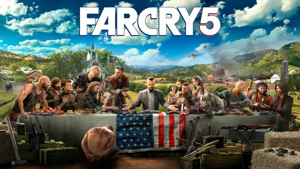 Far Cry 5 заставки и обои