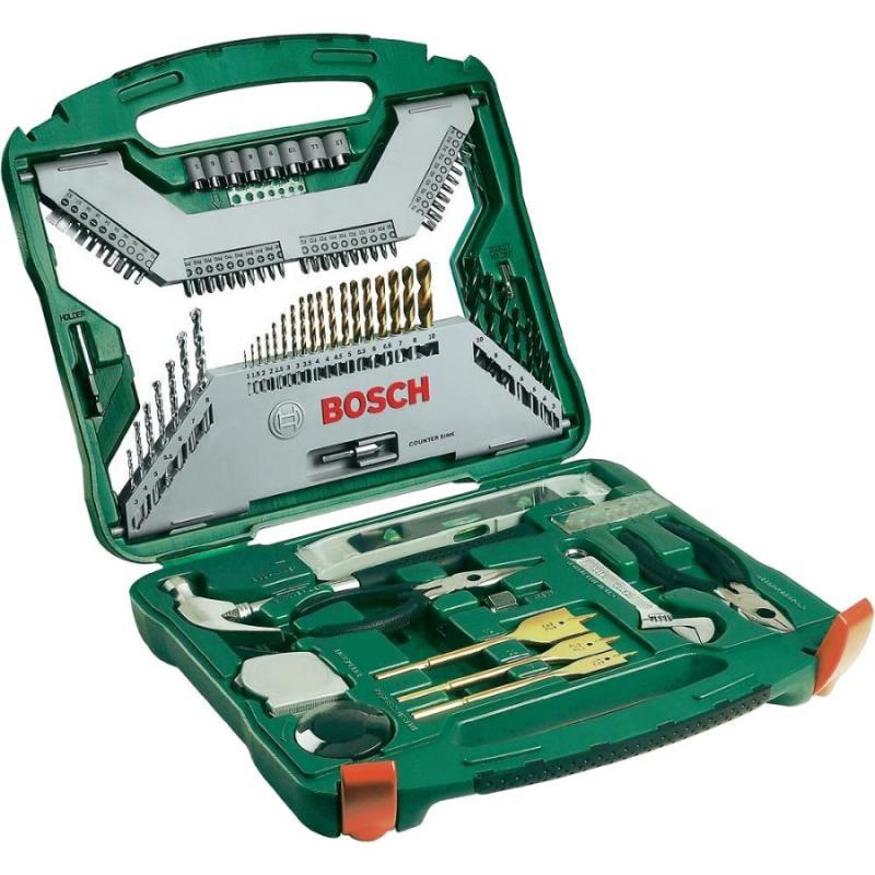 Bosch 103 piece titanium drill and screwdriver set best drill for masonry