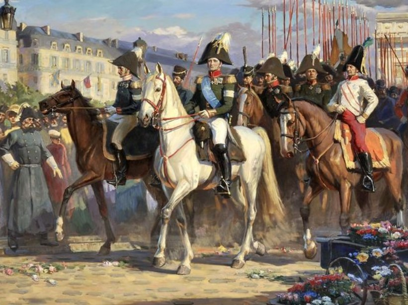 Кто из военачальников привёл русскую армию в Париж в 1814 году?