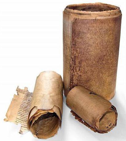 Название древней формы книги, свернутой в трубку и написанной на папирусе?