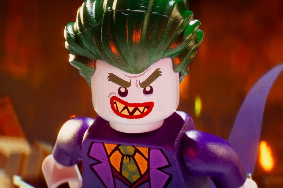 Джокер из мультфильма Лего Фильм: Бэтмен