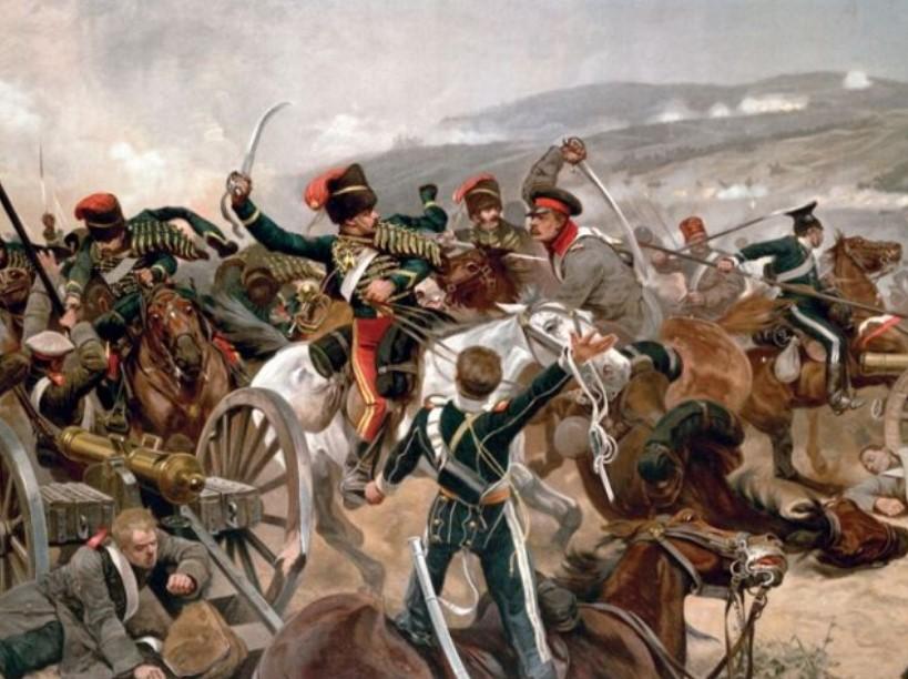 Какое событие не имело места в Крымской войне 1853 – 1856 гг.?