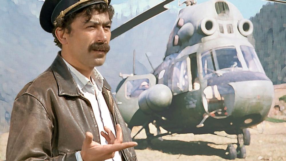 Какое животное перевозил на своем вертолете Валико из «Мимино»?