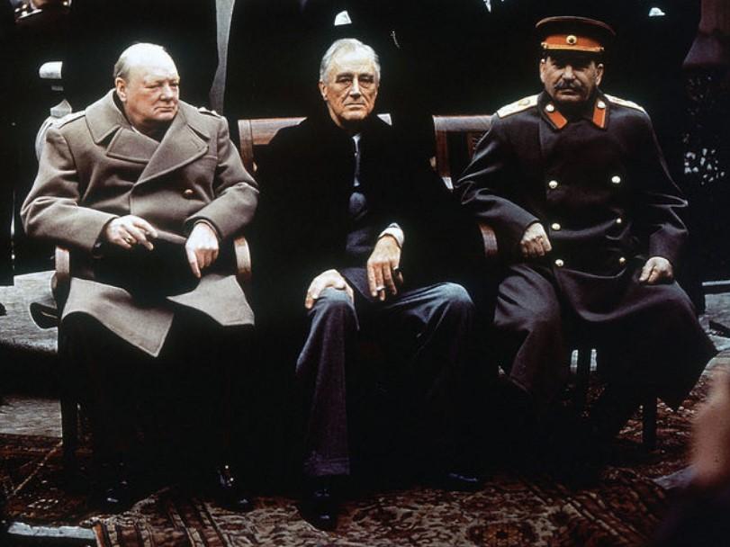 Встреча И.В. Сталина, Ф.Д. Рузвельта и У.Л. Черчилля по вопросу послевоенного миропорядка состоялась