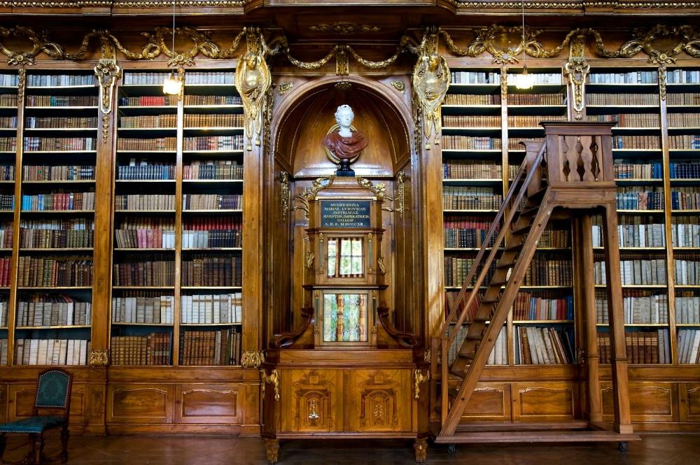 Как на Руси называлась библиотека?