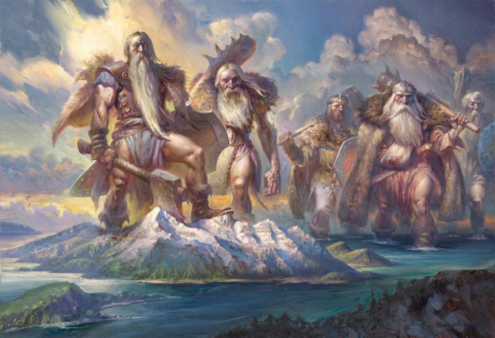 На какой горе живут греческие боги?