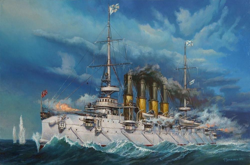 Крейсер «Варяг» стал символом героизма и доблести русских моряков в схватке с японской эскадрой в ходе