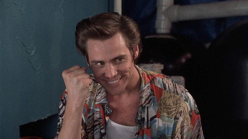 Назовите этого культового персонажа в исполнении Джима Керри.