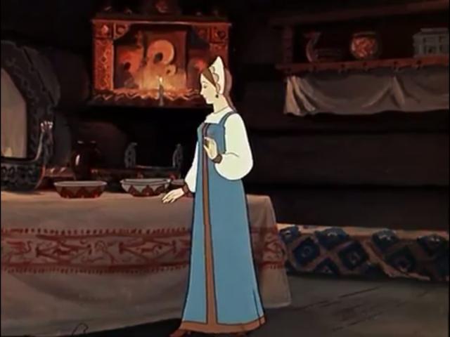 Чей дом нашла царевна в лесу?