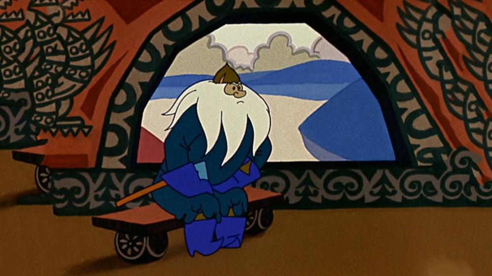 Что это за персонаж из Сказки о золотом петушке?