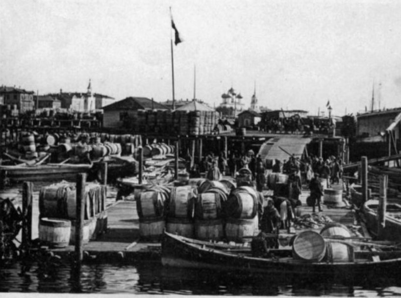 Главным торговым партнёром России накануне Первой мировой войны была