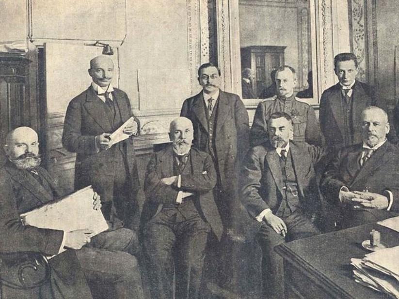 Объединение либеральных партий в IV Государственной думе, подготовившее в феврале 1917 года заговор с целью отречения императора Николая II от престола