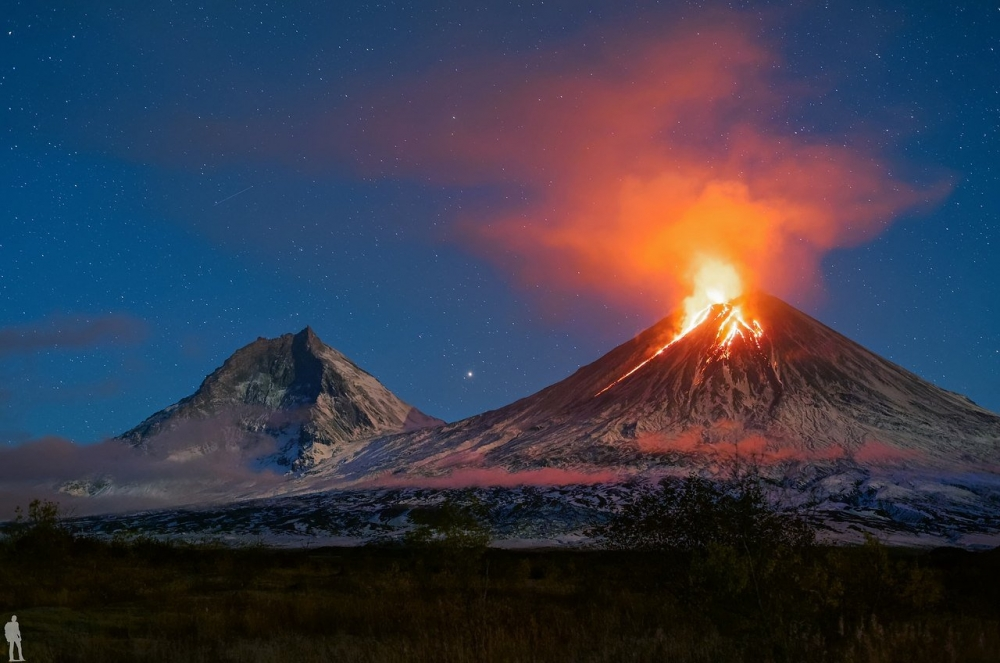 Где находится больше всего вулканов на территории России?