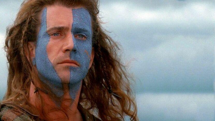 В какой стране разворачиваются события фильма «Храброе сердце»?