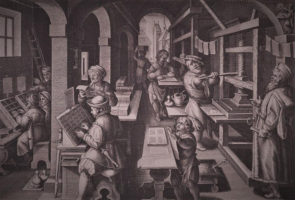 Как называется место, где печатают книги?