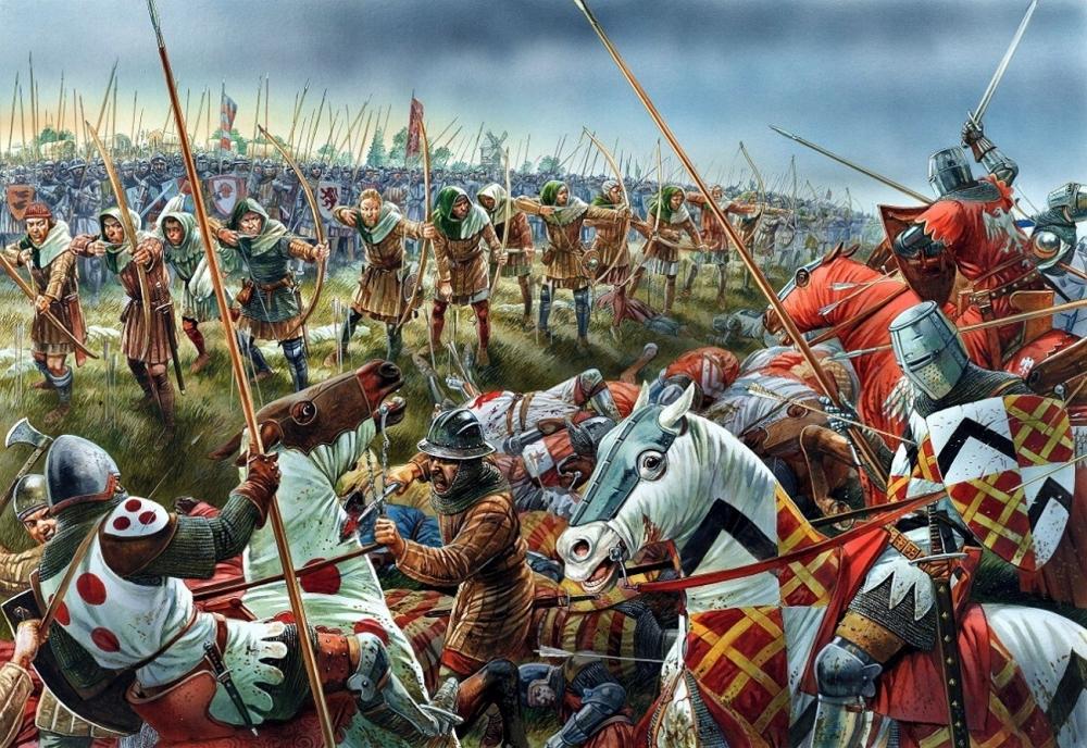 В какой битве в в годы Столетней войны французскими войсками командовала Жанна дАрк?