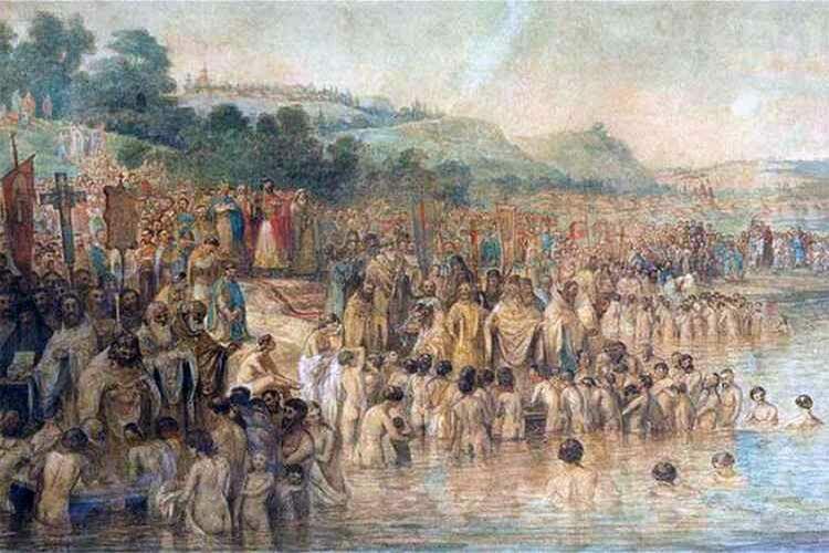 Правда ли, что Крещение Руси произошло в 988 году?