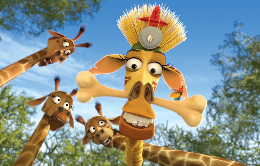 Мелман из мультфильма Мадагаскар