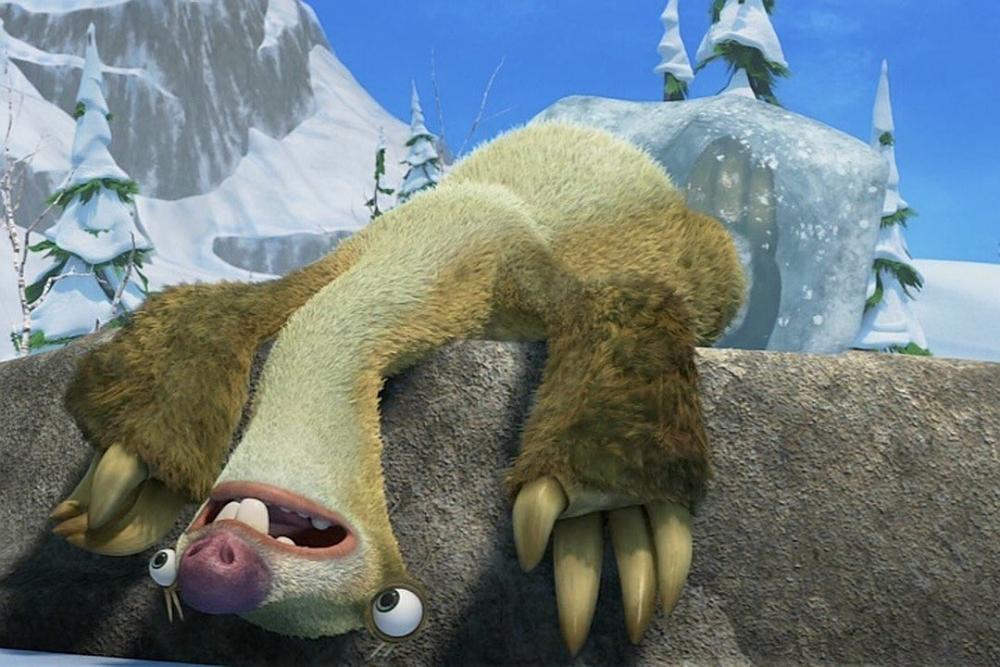 Сид из мультфильма Ледниковый период