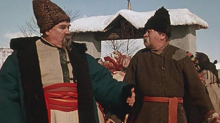 К кому на новоселье пошли Чуб и кум Панас?